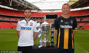 Fa Vase Results Today by Hereford Urged Not To Parade Bull Around Wembley By Animal