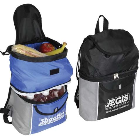 backpack with cooler section cooler backpack made from 210 denier polyester insulated