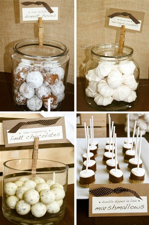 pen paper flowers real parties rustic bridal shower