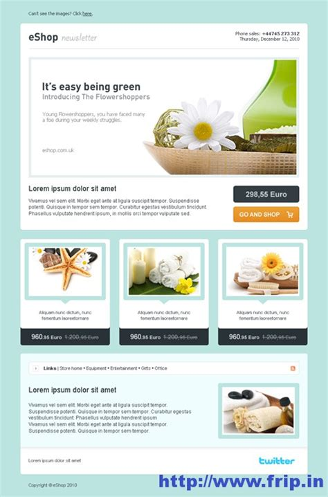 best 40 shopping ecommerce email templates frip in