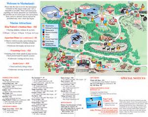 marineland canada map marineland 2008 park map