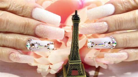 imagenes de uñas de acrilico pequeñas u 209 as acrilicas elegantes y tiernas u 209 as acrilicas rosa y