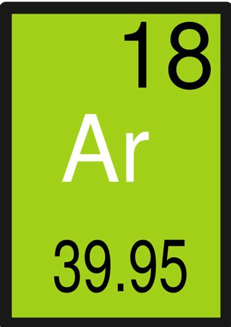 argon protons periodic table element18