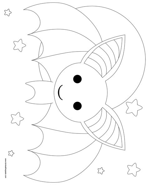 coloring pages baby bat free coloring pages of baby bat