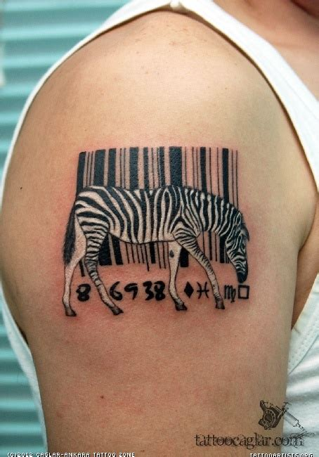 barcode tattoo on chest superman logo barcode tattoo on man shoulder by miles yagami