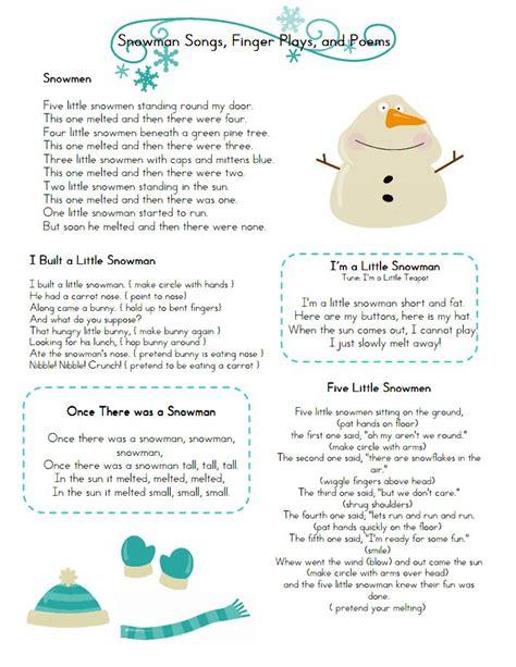theme songs for kindergarten 16 best winter poems kindergarten images on pinterest