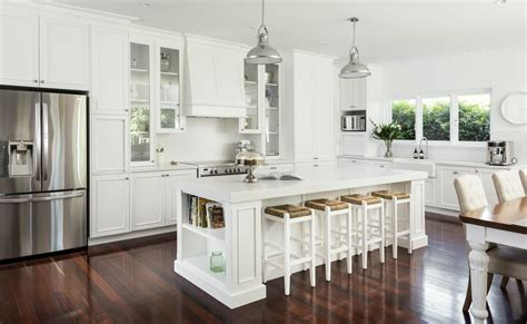 Kitchen Bench Designs Design Ideas From A Hamptons Style Kitchen Renovation In