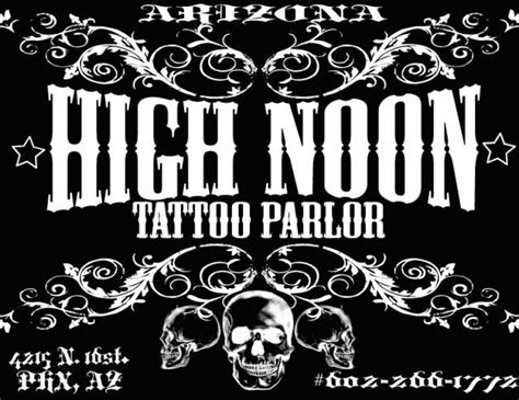 high noon tattoo about us
