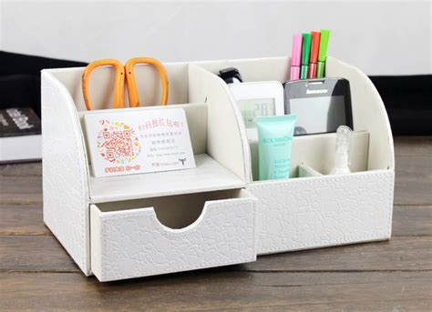 Desk Organizer White by Aliexpress Buy White Black Desktop Organizer