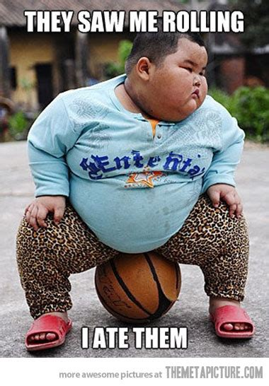 fat kid tattoo kid sitting on basketball meme