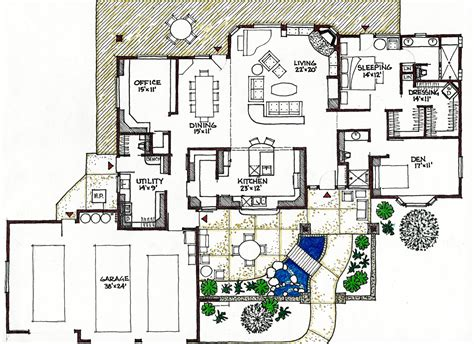 passive solar home designs floor plans house plans northeast passive solar passive solar house