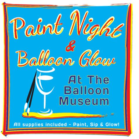 paint nite in albuquerque paint and balloon glow at abruzzo
