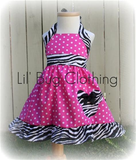 Handmade Clothing Boutiques - custom boutique clothing pink polka dot and zebra minnie