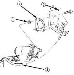 2000 Chrysler 300m Starter Remove A 2002 Chrysler Concord Limited Starter For Replacement