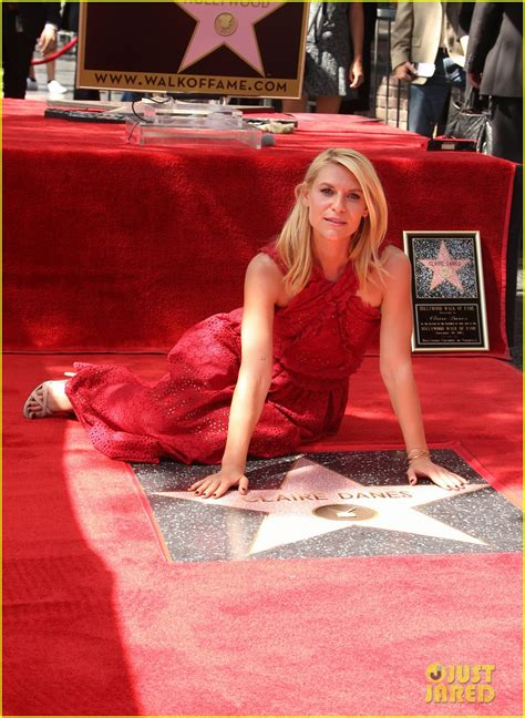 claire danes receives star on hollywood walk of fame with claire danes receives star on hollywood walk of fame