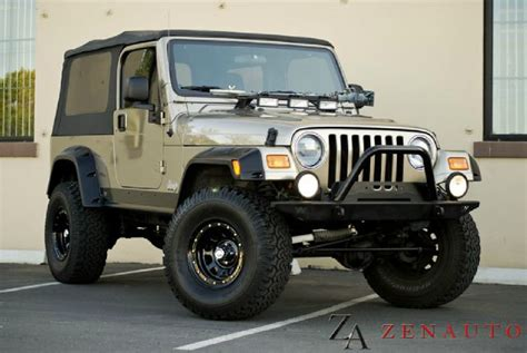 2004 To 2006 Jeep Unlimited For Sale 2004 Jeep Wrangler Unlimited Sport Lwb Custom For Sale In