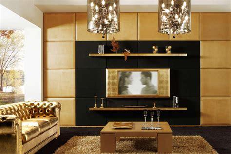 Luxury Tv Wall Mounted Architecture Home Design by Decora 231 227 O Dourada Beleza E Sofistica 231 227 O Em Imagens