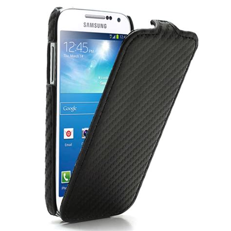 Unions Mini Cooper Samsung Galaxy S5 Custom samsung galaxy s4 mini i9190 i9192 carbon fiber flip leren