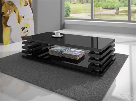 salontafel wit hoogglans hout salontafel plaza hoogglans zwart meubella