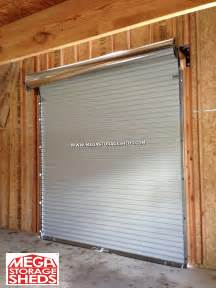 Roll Up Barn Doors Roll Up Doors Mega Storage Sheds