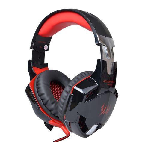 Headset Gaming Led Kotion Each G2000 Gaming Headset Led Usb 3 5mm Surround Stereo Headphone Mic Ebay
