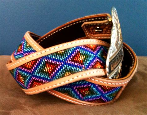 indian beaded belts american beaded belt size 36 barrel racer country