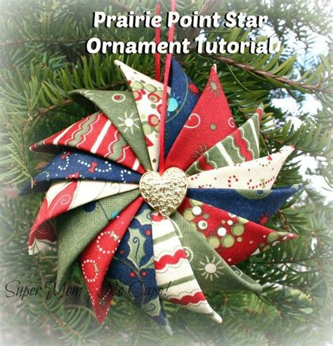 pattern for fabric ornaments 17 best ideas about folded fabric ornaments on pinterest
