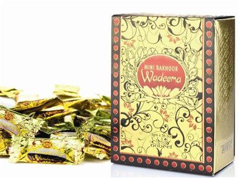 Bakhoor Mini mini bakhoor wadeema incense by nabeel 108gm box of 36 x 3gm