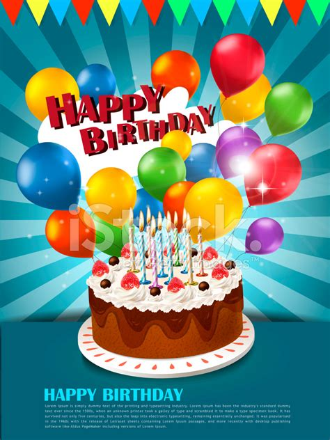 Happy Birthday Poster Stock Photos Freeimages Com Happy Birthday Poster Template
