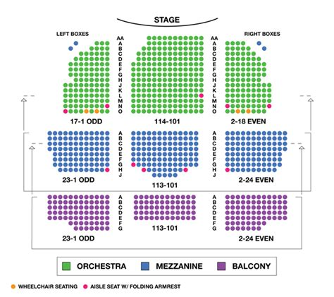 lyceum theatre floor plan lyceum theatre broadway seating charts broadwayworld com