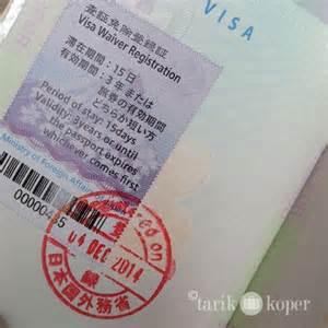 pembuatan visa waiver jepang did you kow pekopeko club zone