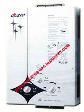 Water Heater Frisone produk water heater gas lozio pemanas air gas water