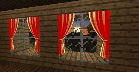 curtains in minecraft curtains out of maps detail minecraft
