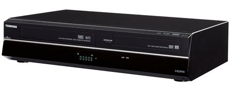 toshiba dvr620 dvd vcr combo recorder with 2 way dubbing