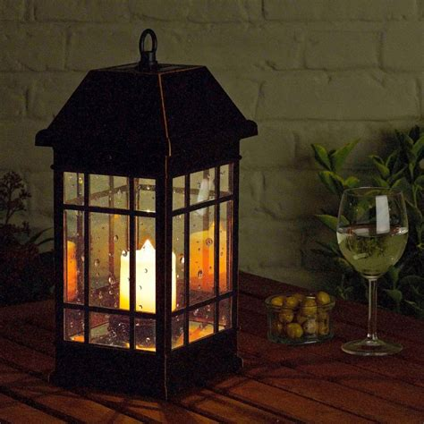 Patio Lantern Lights Seville Solar Lantern