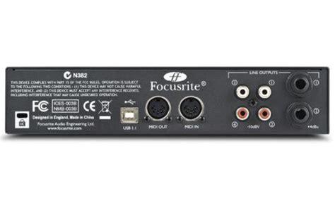 Sound Card Focusrite Saffire 6 Usb focusrite saffire 6 usb sound card interface djkit