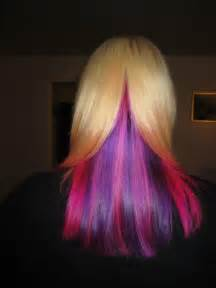 underlayer hair color pin by jackie tennyson aka crash on colorful hair from