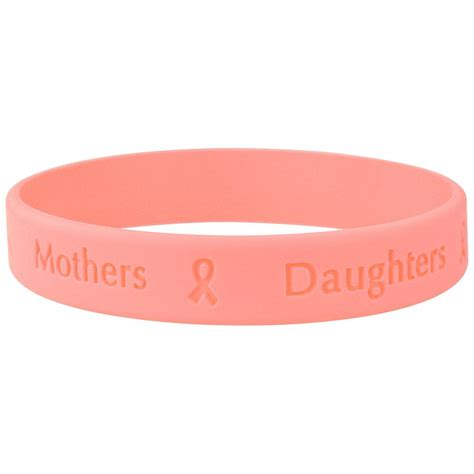 pink band band of support pink ribbon bracelet pink ribbon store