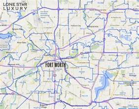 fort worth on map fort worth zip code map zip code map