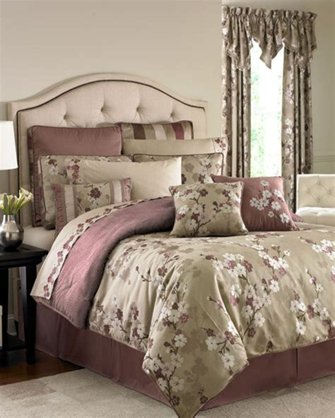 mauve comforter sets cecelia mauve bedding ensemble by croscill townhouse linens