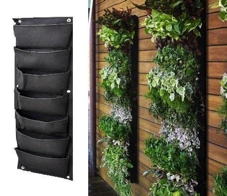 patio wall planters 12 pocket outdoor vertical living wall planter planters