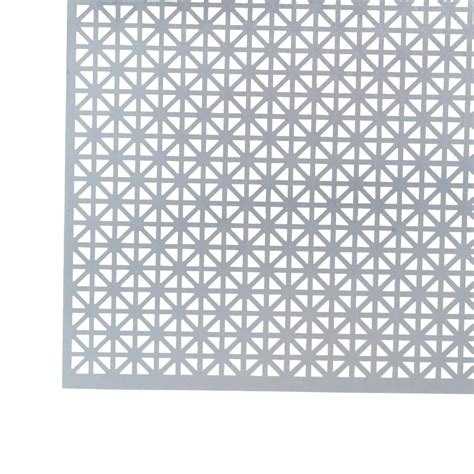 m d building products 1 ft x 2 ft satin nickel mosaic