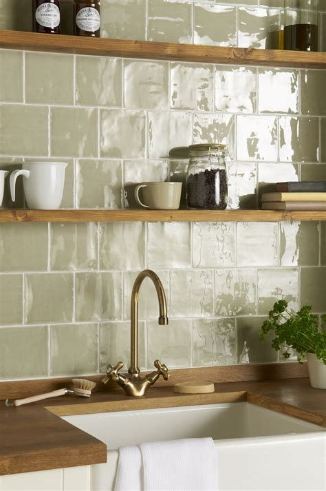 Handmade Kitchen Tiles - mere field tile the winchester tile company