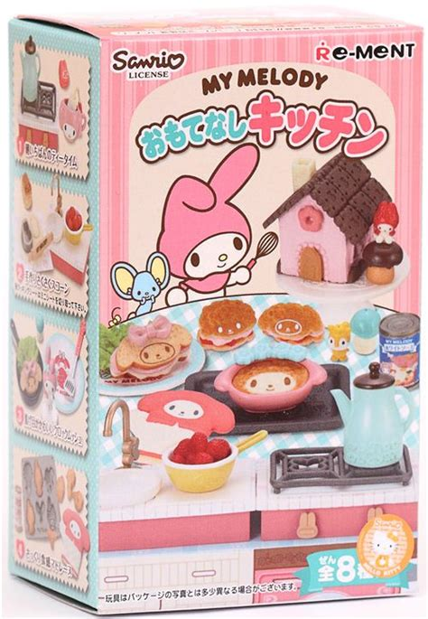 Re Ment My Melody Winter my melody re ment miniature blind box hospitality kitchen re ment miniature kawaii shop modes4u