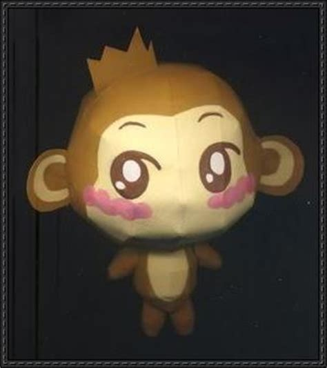 Papercraft Monkey - papercraftsquare new paper craft yoci monkey yoyo