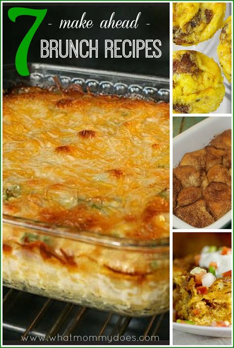 7 make ahead christmas brunch ideas what mommy does
