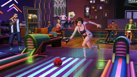 Bowl 4 Free the sims 4 bowling free