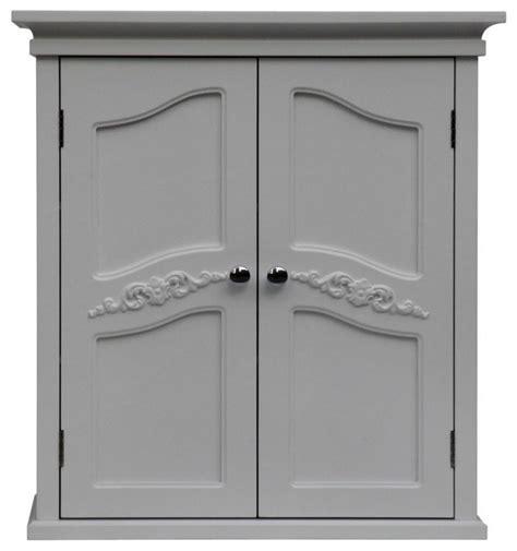 2 Door Medicine Cabinet Versailles Wall Cabinet With 2 Doors Traditional Medicine Cabinets