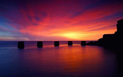 beach sunset desktop wallpaper  images