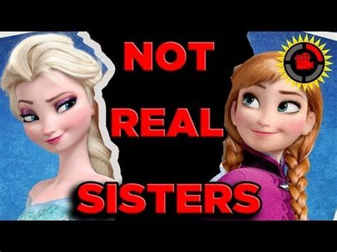 film elsa frozen youtube film theory disney s frozen anna and elsa are not